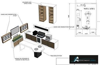Agencement Bar Conception De Bar En 3d Agencement Café Agencement
